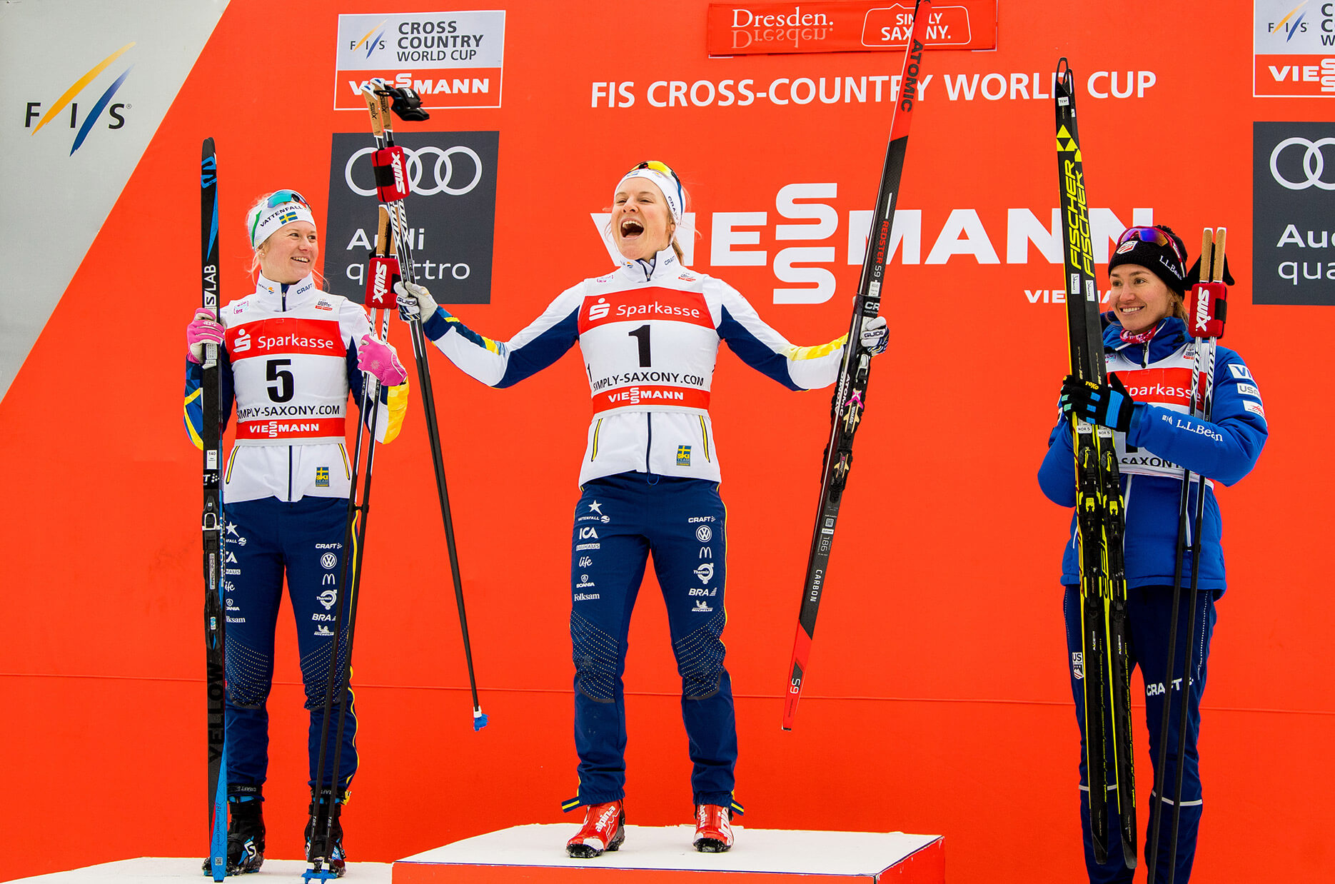 Hanna Falk vinner i Dresden